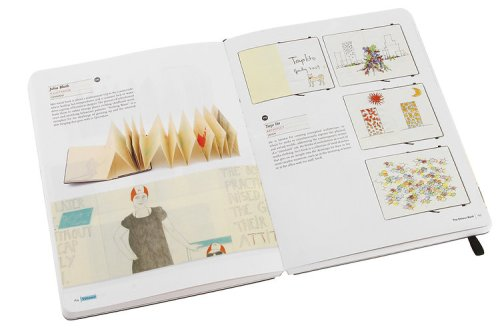 The book was published in November, but it draws on six years of notebooks collected by Moleskine's travelling exhibition.